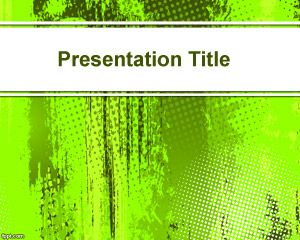 Bright Green PowerPoint fond