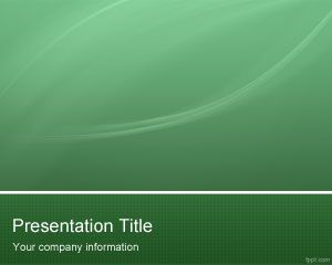 Template Verde Hi Tech PowerPoint