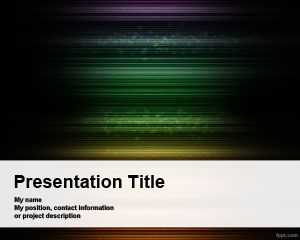 Naive Dark PowerPoint Template