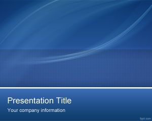Template PowerPoint Professional IT