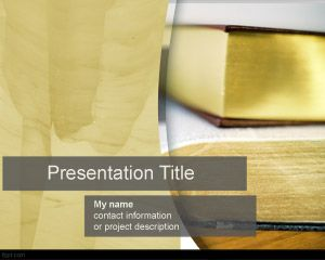 Novel PowerPoint Template