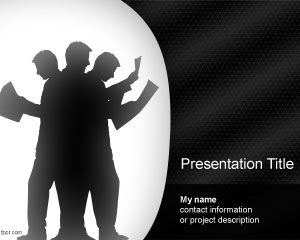 Effort d'équipe PowerPoint Template
