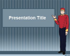 Bellboy PowerPoint Template