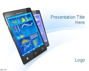 Mobile Device PowerPoint Template