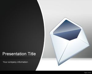 Mail PowerPoint Template