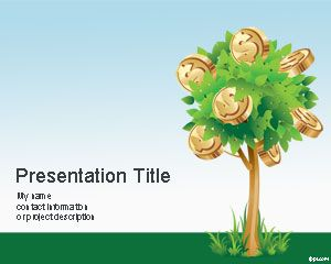 Money Tree PowerPoint Template