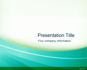 Green Radiant PowerPoint Template