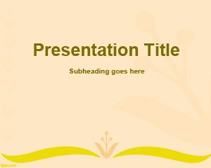 Tressage PowerPoint Template