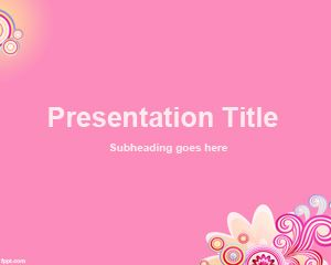 Rose Background for PowerPoint