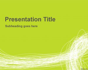 Scribble PowerPoint Template