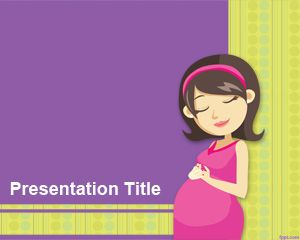 Natural Childbirth PowerPoint Template