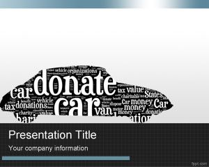 Donasi Mobil PowerPoint Template