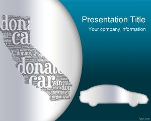 Doe Template Car California PowerPoint