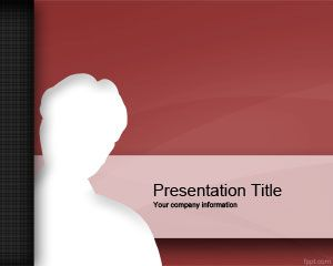 Format Red Intruder PowerPoint