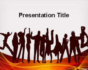 Having Fun PowerPoint Template
