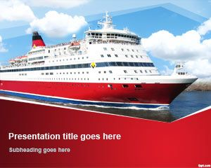 Cruise Ship PowerPoint Template