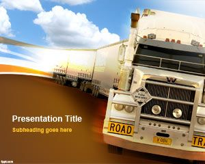 Heavy Truck PowerPoint Template