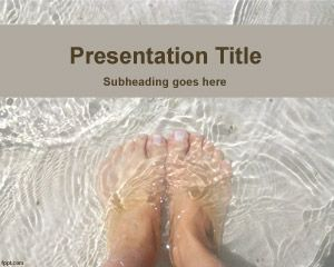 Feet PowerPoint Template