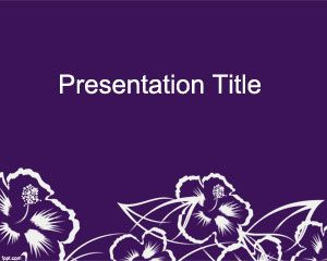 Wildflower PowerPoint แม่