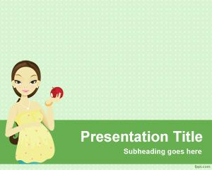 Pregnancy Nutrition PowerPoint Template