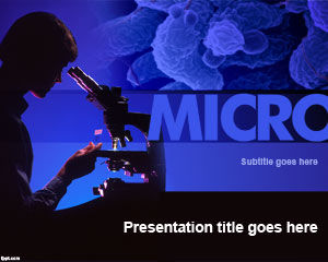 Microbiologie PowerPoint Template