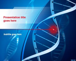 Free DNA Structure PowerPoint Template