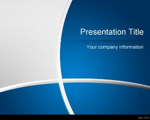 Dark Blue Manager PowerPoint Template