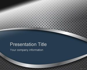 Metal Panel PowerPoint Template