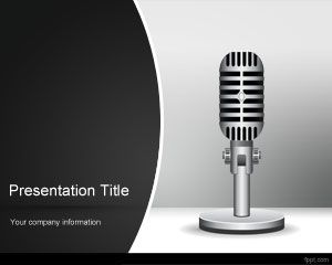 Radio PowerPoint Template