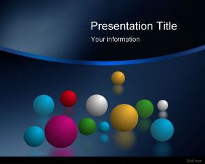 Ruang Balls Powerpoint Template Powerpoint Template Free Download