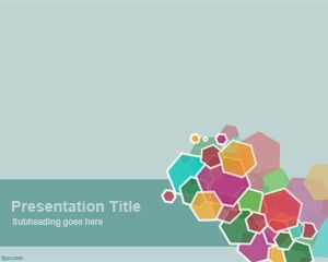 Appealing Hexagon PowerPoint Template