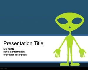 UFO PowerPoint Template