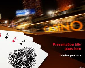 Poker Cards PowerPoint Template