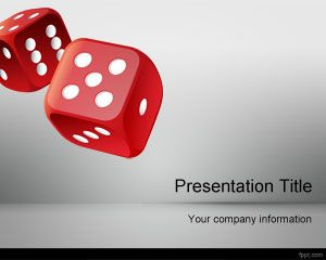 Roll Template Dice PowerPoint