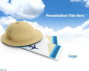 Relaxing Travel PowerPoint Template