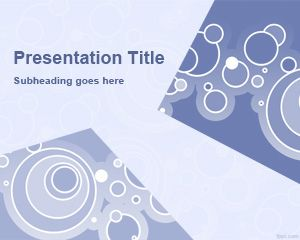 Circles and Level PowerPoint Templates
