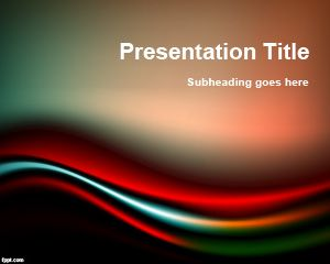 Template Black & Red PowerPoint