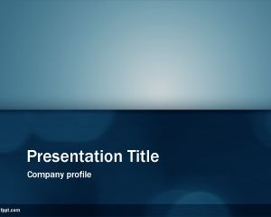 Email Newsletter PowerPoint Template