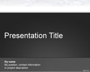 Air PowerPoint Template
