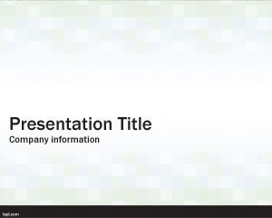 Cubes Simple PowerPoint Template