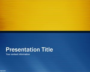 Blue Time PowerPoint Template