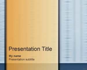 Mocking PowerPoint Template