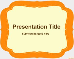 Elementary PowerPoint Template