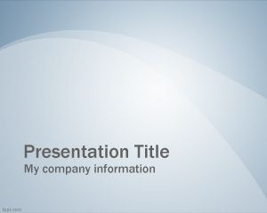 Blue Professional Slide PowerPoint