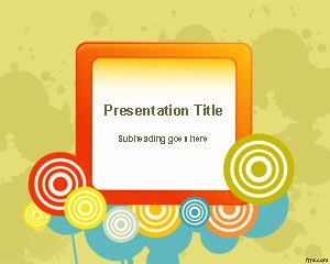 Format Color Wheel PowerPoint