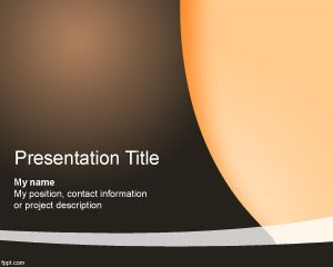 Selected PowerPoint Template