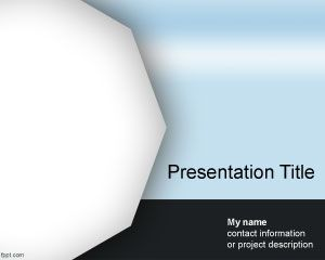 Polygon PowerPoint Template