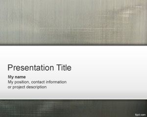 Grey PowerPoint Template