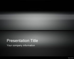 Template Dark Iron PowerPoint