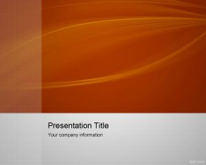 Oranye Lead Capture PowerPoint Template